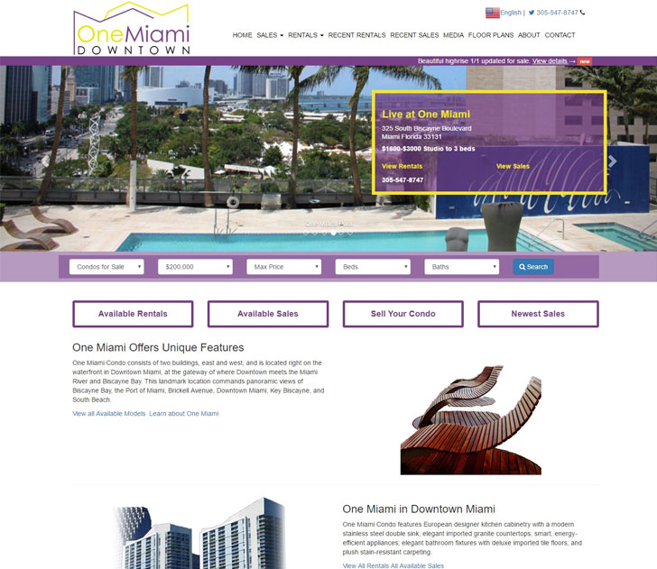 Informational Real Estate Website